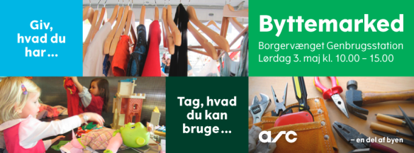 Byttemarked på Borgervænget